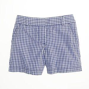 J. Crew Gingham Shorts